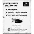 Narco AT-50 AT-50A  AT 50 AT 50A Transponder Maintenance Manual 03604-602 $29.95