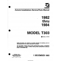 Cessna Model T303 (1982 thru 1984) Avionic Installations Service/Parts Manual D4607-13