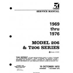 Cessna Model 206 & T206 Series (1969 thru 1976) Service Manual D2007-3-13