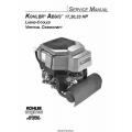 Kohler Aegis LV560, LV625, LV675 Vertical Crankshaft 17,20,23 HP Service Manual