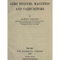 Aero Engines, Magnetos and Carburetors 1918 $2.95