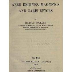 Aero Engines, Magnetos and Carburetors 1918 $2.95