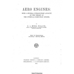 Aero Engines The Theory of the Internal- Combustion Engine $2.95