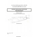 Aero Twin Rudder Gust Lock Kit No. AT-RL-1001 Instructions, Maintenance Manual & Parts List 2004 $4.95