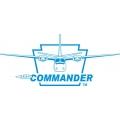 "Aero-Commander Aircraft Decal/Vinyl Sticker 11.5"" wide by 5"" high!"