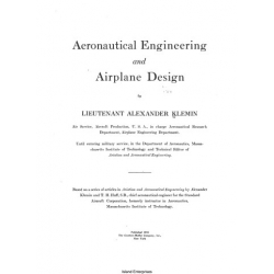 Aeronautical Engineering and Airplane Design $2.95