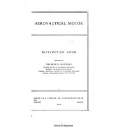 Aeronautical Motor Instruction Paper