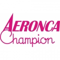 Aeronca Champion Aircraft Logo,Decal/Sticker  6''h x 10.5''w!
