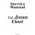 Aeronca Chief 11A Service Manual $5.95