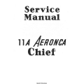 Aeronca Chief Model 11-A Service Manual 1946 $5.95