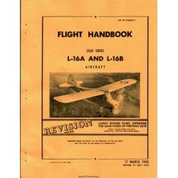 Aeronca L16A and L16B Aircraft Pilot's Operating Handbook 1948 - 1953