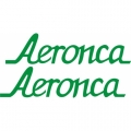 Aeronca Aircraft Logo,Decal/Sticker 2''h x 9''w!