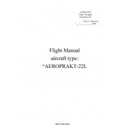 Aeroprakt-22L Aircraft Flight Manual POH 2008 $4.95