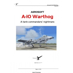 Fairchild Republic A-10 Thunderbolt II Warthog Manual A Tank Commanders Nightmare $4.95