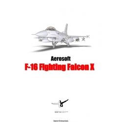 Falcon F-16 Fighting Falcon X Manual $4.95
