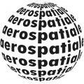 Aerospatiale Aircraft Decal,Stickers!