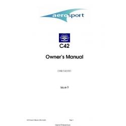 Aerosport IKARUS C42 OHB/C42/001 Owner's Manual (Microlight) $4.95
