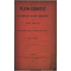 Aerostat Plan Aeroplane Manual $2.95