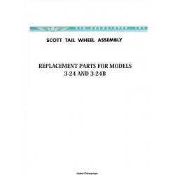 Air Associates 3-24 & 3-24B Tail Wheel Assembly & Replacement Parts $2.95