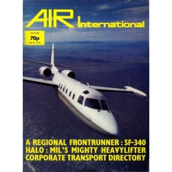 Air International Manual SF-340 Halo, Mil's Mighty Heavylifter 1983 $4.95