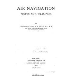 Air Navigation Notes and Examples 1919 $5.95