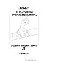 Airbus A340 Flight Crew Operating Manual Flight Operations - Vol 3 $9.95