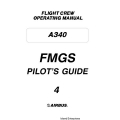 Airbus A340 FMGS Flight Crew Operating Manual & Pilot's Guide $13.95