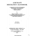 Aircraft Mechanics Handbook Collection of Facts and Suggestions1918 $9.95