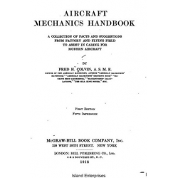 Aircraft Mechanics Handbook Collection of Facts and Suggestions1918