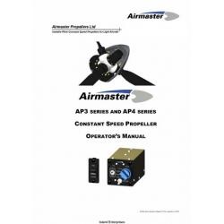 Airmaster AP3 Series & AP4 Series Constant Speed Propeller Operator's Manual 2010 $9.95