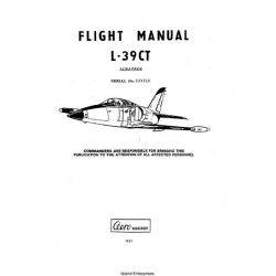 Grumman Albatros L-39CT Flight Manual/POH 1991 $5.95