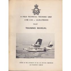 Grumman Albatross CSR 110 Pilot Training Manual