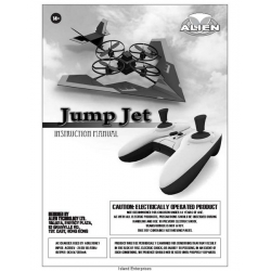Alien Jump Jet Instructions Manual $4.95