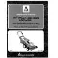 "Allis Chalmers 21"" Walk-Behind Mower Operator's Manual Part # 1690561 1980 $6.95"