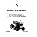 Allis Chalmers Model 900 Series 910-6 Speed Owner's Manual $4.95