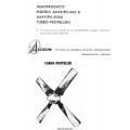 Allison Aeroproducts A6441FN-606 and A6441FN-606A Turbo-Propellers Manual $9.95