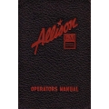 Allison Engine Installations V-1710 Operators Manual $5.95
