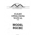 American Champion 8GCBC Flight Operations Manual Rev 1992 $9.95
