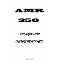 Amr 350 Audio/ Marker Panel Schematic Diagrams 1982 $4.95