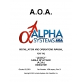 AOA Alpha Systems for the   Legacy Angle of Attack Indicator Installation and Operations  Manual 2010 $5.95