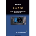 Apollo CNX80 Color GPS/WAAS/Nav/Com Pilot's Guide 2003 $5.95