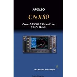Apollo CNX80 Color GPS/WAAS/Nav/Com Pilot's Guide 2003 $5.95