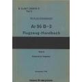 Arado Ar 96 B-3 Teil 0 Flugzeug-Handbuch $4.95