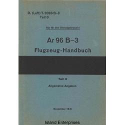 Arado Ar 96 B-3 Teil 0 Flugzeug-Handbuch