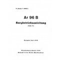 Arado Ar 96 B Kurzbetriebsanleitung (KBA-F1) $9.95