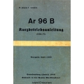 Arado Ar-96B Kurzbetriebsanleitung $4.95
