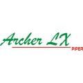 Piper Archer LX 13''w x 2.5''h!