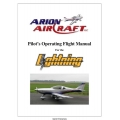 Arion Aircraft Lightning Pilot's Operating Handbook & Flight Manual 2006 $4.95