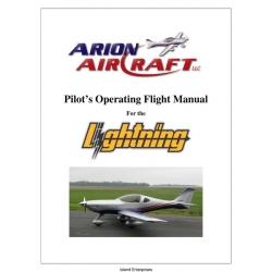 Arion Aircraft Lightning Pilot's Operating Handbook & Flight Manual 2006