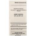 Grumman OV-1D & RV-1D Mohawk Technical Manual & Crewmember Checklist 1978 $4.95